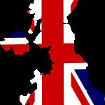 Wielka Brytania mapa.